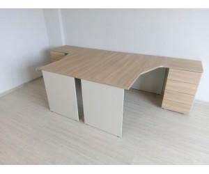 Набор мебели на два рабочих места S2U. Столешница 22 мм!