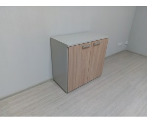 Шкаф с дверями для МФУ 76H001