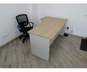Стол угловой письменный 1580*950*750 мм, левосторонний