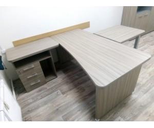 Комплект мебели для руководителя. Вельс, цвет дрифтвуд