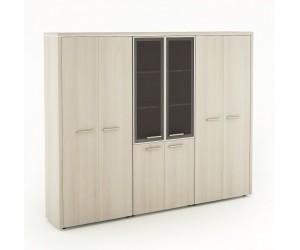 Набор шкафов Вельс-4 для кабинета руководителя