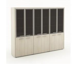 Набор шкафов Вельс-9 для кабинета руководителя
