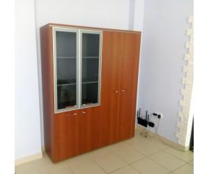Набор шкафов Вельс-11 для кабинета руководителя, Вишня