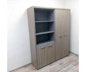 Набор шкафов Вельс-12 для кабинета руководителя, ДрифтВуд