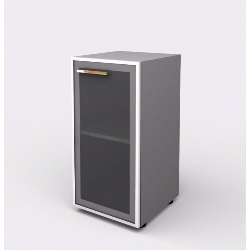 Шкаф-витрина с порталами 104821