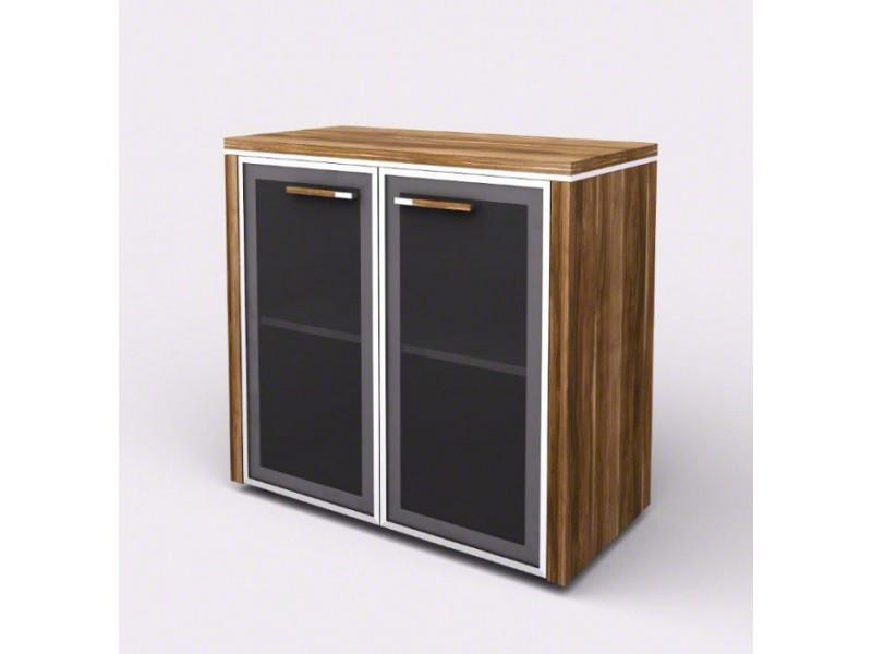 Шкаф-витрина с порталами 104812