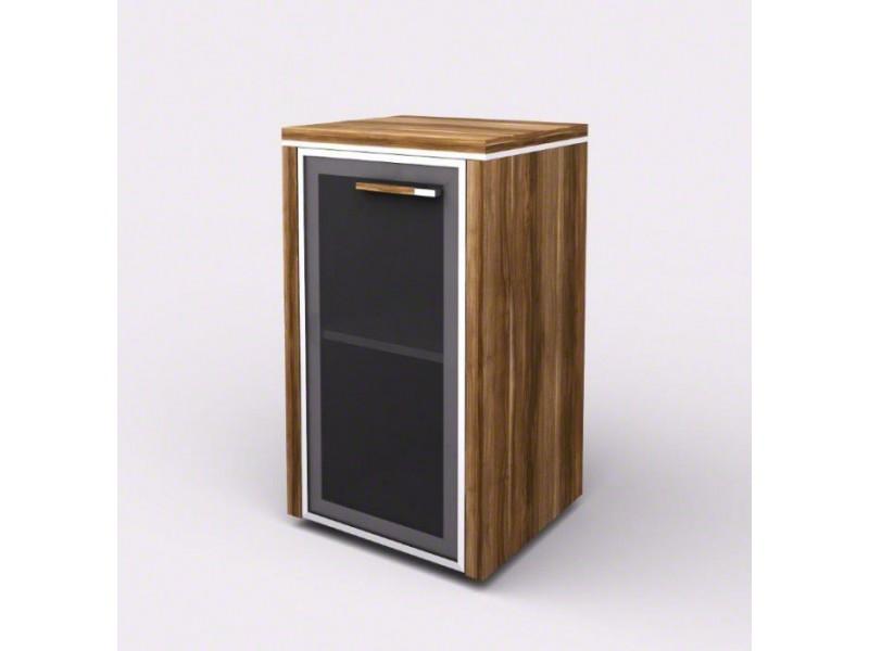 Шкаф-витрина с порталами 104822