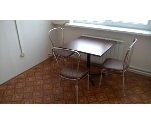 Комплект для столовой KARINA black-k3 (Стол+3 стула)