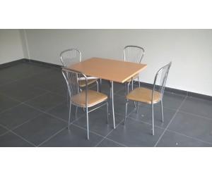 Комплект для столовой TRACY-k4 (Стол+4 стула)