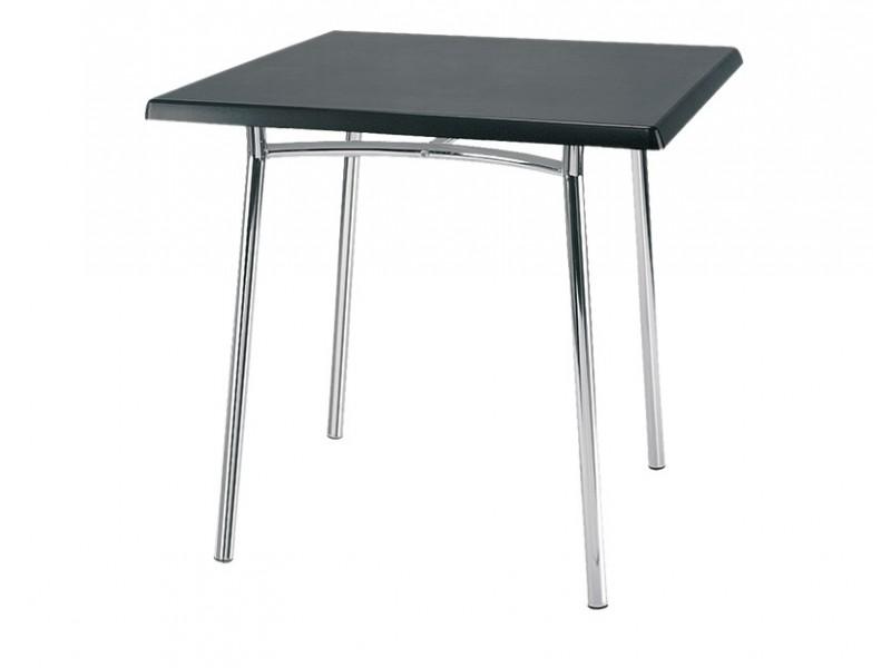 Стол квадратный Tiramisu chrome